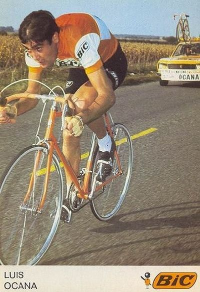 PHOTO 17X12 CM LUIS OCANA CHUTE TOUR DE FRANCE 1972 COLLECTION L/'EQUIPE