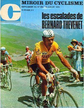 Les classements du tour de france 1975 for Le miroir du cyclisme